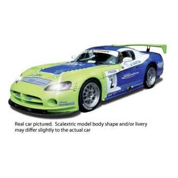 Voiture Endurance High Detail Scalextric Dodge Viper Competition Coupe GS Motorsport -sca3018