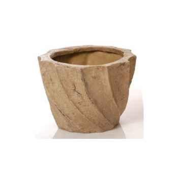 Vases-Modèle Aegean Planter - Small, surface marbre vieilli-bs3099ww