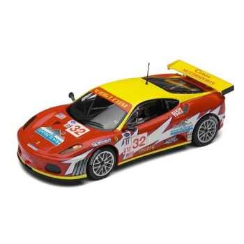 Voiture Endurance High Detail Scalextric Ferrari F430 GT2 Corsa Motorsports -sca2902