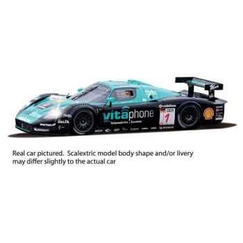 Voiture Endurance High Detail Scalextric Maserati MC12 Scuderia Playteam -sca2904