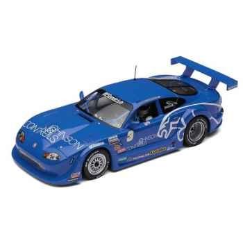 Voiture Endurance High Detail Scalextric Jaguar XKRS GTS Rocketspots Vainqueur 2002 -sca2908