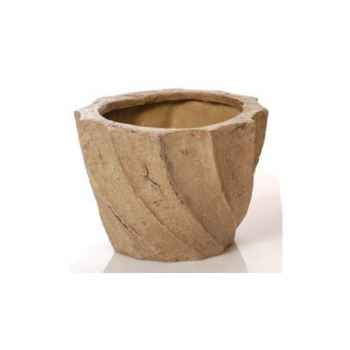 Vases-Modèle Aegean Planter - Small,  surface granite-bs3099gry