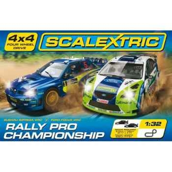 Coffret Sport Scalextric Rally Pro Champion -sca1196p