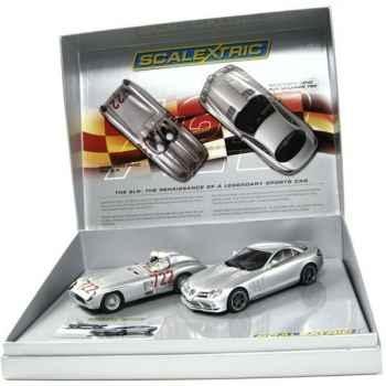 Coffret Voiture Scalextric Mercedes Benz -sca2783a