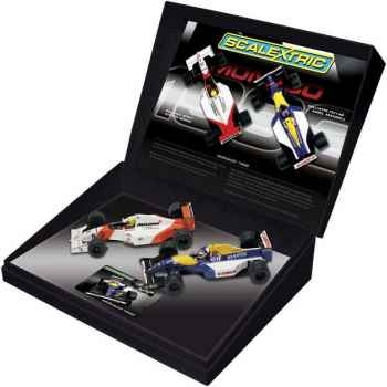 Coffret Voiture Scalextric Mansell Senna 1992 -sca2971a