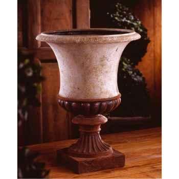 Vases-Modèle Ascot Urn, surface marbre vieilli-bs3097ww