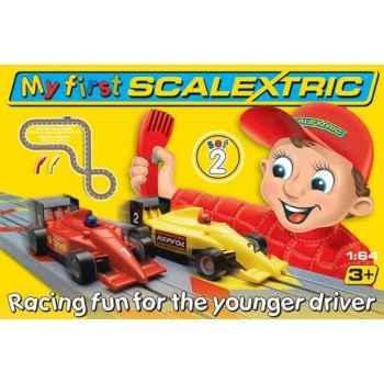 Coffret Micro Circuit Scalextric Mon Premier Circuit 2 F1 -sca1047