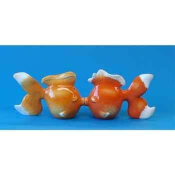 Figurine Mwah Poissons dorés -MW 93922