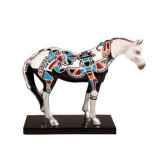 figurine chevapainted ponies zuni silver po12303