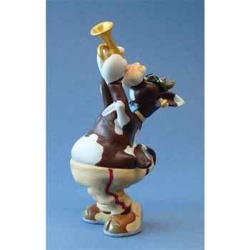 Figurine So Vache Jazz Trompette -SOV10