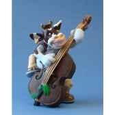 figurine so vache jazz batterie sov08