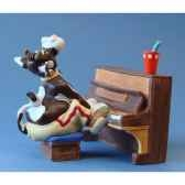 figurine so vache jazz pianio sov07