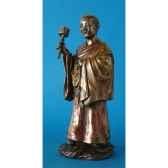 figurine en bronze tibet choden tib202
