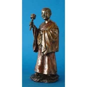 Figurine en bronze Tibet Choden -TIB202