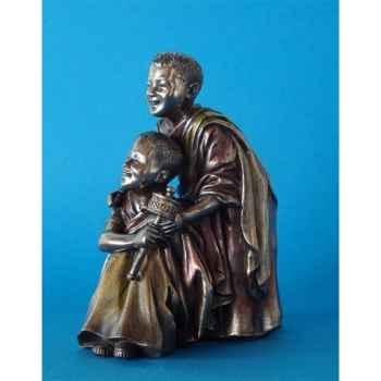 Figurine en bronze Tibet Cimba et Zonpa -TIB203