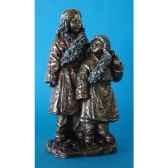 figurine en bronze tibet ceba et dawa tib204