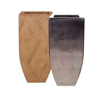 Vases-Modèle Kobe Planter Large,  surface granite-bs3434gry