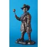 figurine en bronze tibet rabten tib207