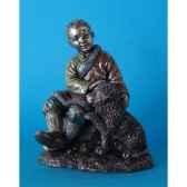 figurine en bronze tibet jampo tib209
