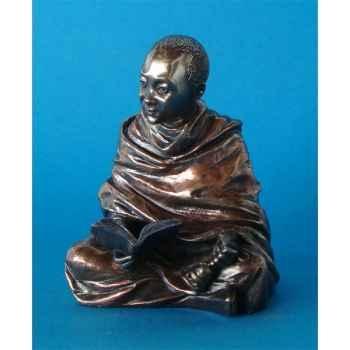 Figurine en bronze Tibet Kunchen -TIB210
