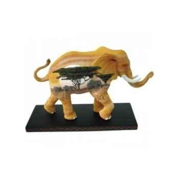 Figurine Elephant Tusk Plaines africaines -TU13041
