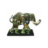 figurine elephant tusk jungle tusk tu13043