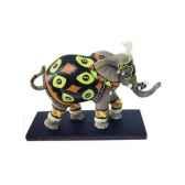 figurine elephant tusk azubuike tu13046
