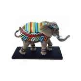 figurine elephant tusk dayo tu13047