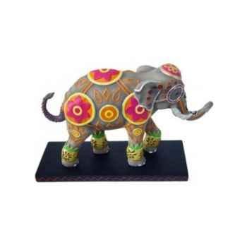 Figurine Elephant Tusk Goan Skies -TU13048