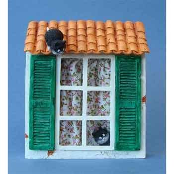 Tableau Les chats de Dubout Rendez vous manqué -DUB43