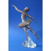 figurine body talk ballet arabesque wu73971