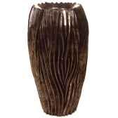 vases modele alon vase surface pierre noire bs3414lava