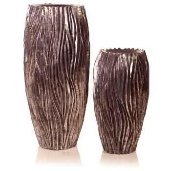Vases-Modèle Alon Vase, surface aluminium-bs3414alu