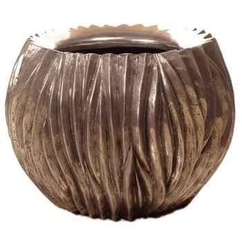 Vases-Modèle Alon Bowl, surface aluminium-bs3413alu