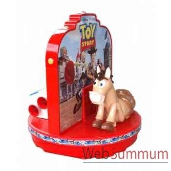 Automate décors de Noël 2 Ours Polaires sur paquet cadeau petit modèle -OU1A