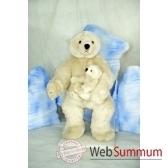 automate decors de noemaman ours polaire et son bebe ours polaire grand modele ou4a