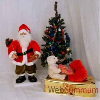 Automates décors de Noël Scène complète avec 2 automates petit modèle -SC1A