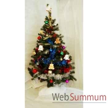Kit décors de Noël Grand Sapin de Noël décoré -KT2A