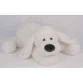 peluche histoire d ours chien biscuit allonge 40cm ho1388