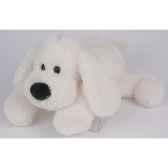 peluche histoire d ours chien biscuit allonge 50cm ho1389