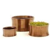vases modele mars vase medium surface bronze nouveau bs3355nb