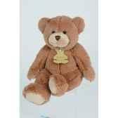peluche histoire d ours les calin ours moyen modele 35cm marron ho1159