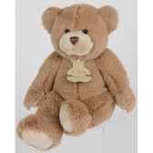 peluche histoire d ours les calin ours tres grand modele 80cm marron ho1345