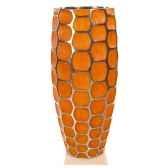 vases modele mando vase surface aluminium avec patine or bs3354alu org