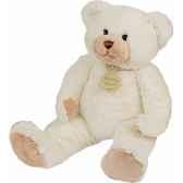peluche histoire d ours les calin ours grand modele 50cm ivoire ho1340