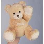 marionnette peluche histoire d ours ours 25cm ho1381