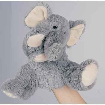 Marionnette Peluche Histoire d\'Ours Eléphant 25cm -HO1382