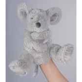 marionnette peluche histoire d ours souris 25cm ho1383