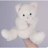 marionnette peluche histoire d ours chat 25cm ho1384