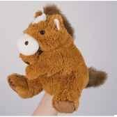 marionnette peluche histoire d ours cheva25cm ho1386